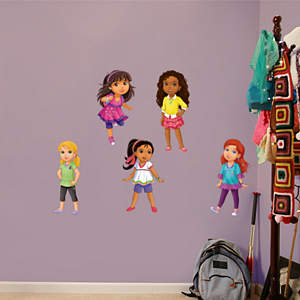 Dora & Friends Collection Fathead Wall Decal